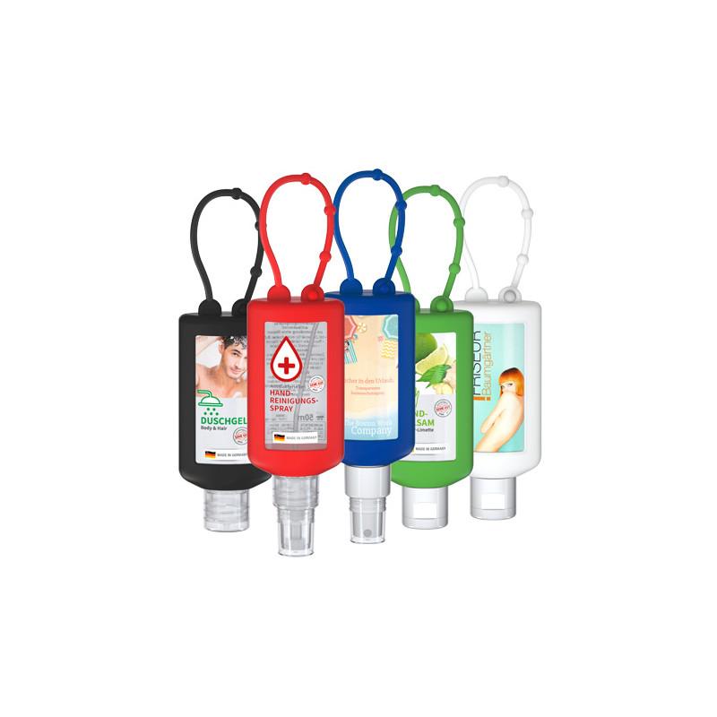 Handreinigungsspray Bumper in verschiedenen Farben