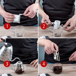 Coffeebag - Anwendung