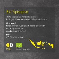 Kaffeesorte Bio Sipisopiso (mild)