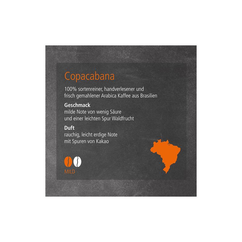 Kaffeesorte Copacabana