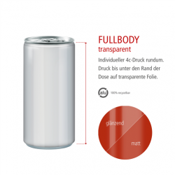 Druck Full Body transparent