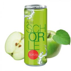 Apfelschorle spritzig - Dose 250ml