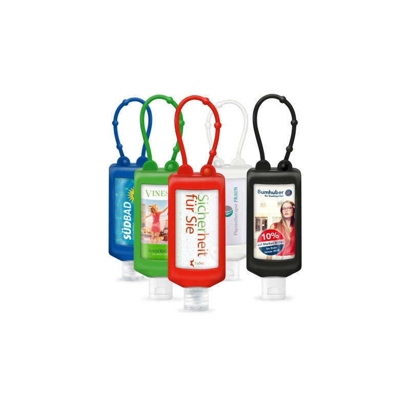 Handreinigungsgel Bumper 50ml in verschiedenen Farben
