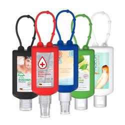Händedesinfektions-Spray Bumper in verschiedenen Farben