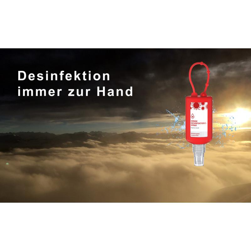 Händedesinfektions-Spray Bumper