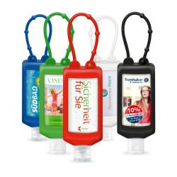 Hände-Desinfektionsmittel Bumper 50ml in verschiedenen Farben