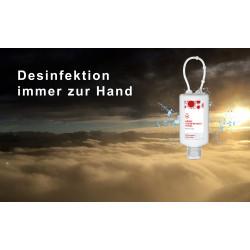 Hände-Desinfektionsmittel 50ml Bumper